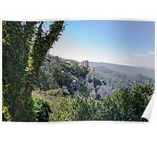 Castle of the Moors in Sintra, Portugal Poster