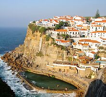 Azenhas do Mar, a beautiful town in the municipality of Sintra, Portugal. by Stanciuc