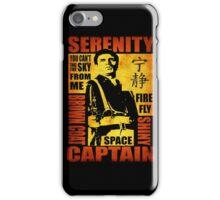 Serenity (coloured version) iPhone Case/Skin