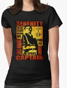 Serenity (coloured version) Womens Fitted T-Shirt