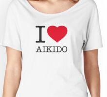 I ♥ AIKIDO Women's Relaxed Fit T-Shirt