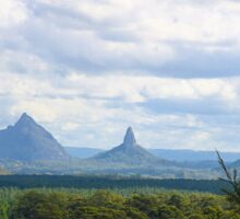Glasshouse Mountains, Qld Sticker