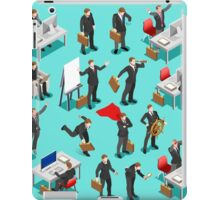Businessman Leader Isometric iPad Case/Skin