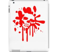 Skull skull blood drops Horror iPad Case/Skin