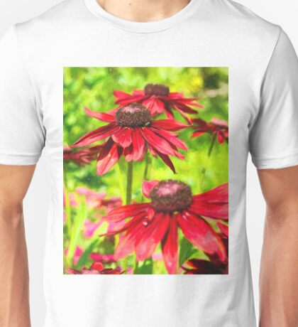Among The Flowers Unisex T-Shirt