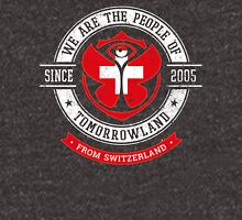 People of Tomorrowland Flags logo Badge -  Switzerland - Suisse - Schweiz - svizzera Unisex T-Shirt