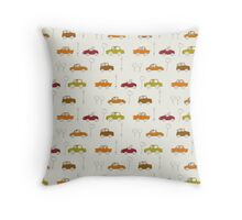 traffic - red Throw Pillow