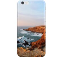 Seacoast near Cabo Sardao lighthouse, Alentejo, Portugal iPhone Case/Skin