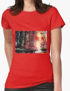 Daybreak 2 Womens Fitted T-Shirt