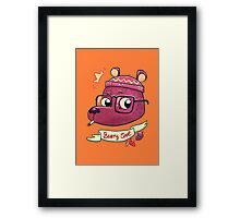 Beary Cool Framed Print