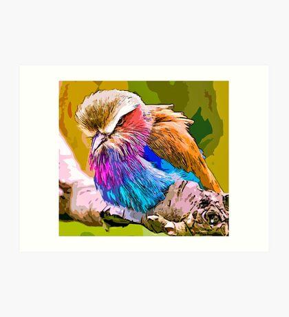 Bird of prey, I am not Art Print