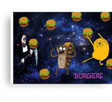 BURGER PARTY  Canvas Print