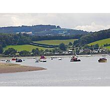 Seaton landscape Photographic Print