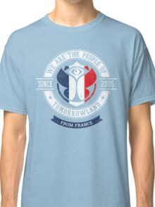 People of Tomorrowland Flags logo Badge - France - Français - French Classic T-Shirt