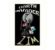 Darth InVader ZIM! Art Print