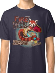 Fire Ferret Crunch Classic T-Shirt