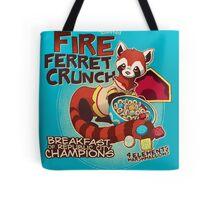 Fire Ferret Crunch Tote Bag