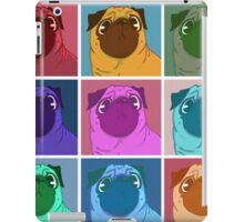 Pug Warhol iPad Case/Skin