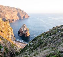 Seacoast at Cabo da Roca, Portugal by Stanciuc