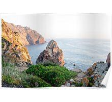 Seacoast at Cabo da Roca, Portugal Poster