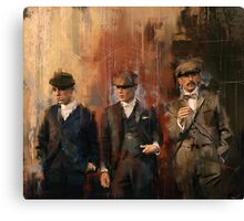 Shelby Brothers Canvas Print