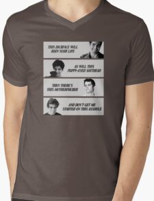 Teen wolf Mens V-Neck T-Shirt