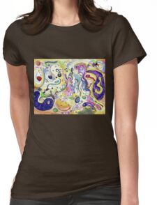 Amimages Art Womens Fitted T-Shirt