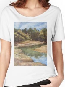 Lake Cathie - plein air Women's Relaxed Fit T-Shirt