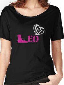 LEO Women's Relaxed Fit T-Shirt