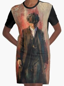 Red right hand Graphic T-Shirt Dress