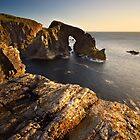 The Sea Arch by Jeanie