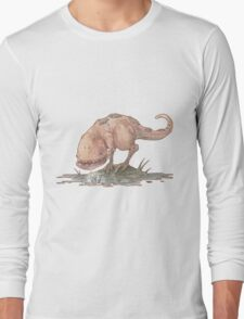 Guar and a coda flower Long Sleeve T-Shirt