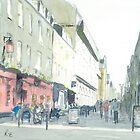 Rose Street, Edinburgh by Ross Macintyre