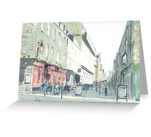 Rose Street, Edinburgh Greeting Card
