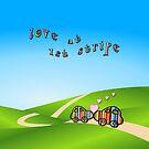 love at 1st stripe by poupoune