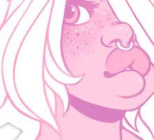 pink Sticker