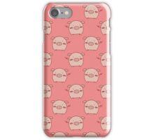 Pink Piggy Pattern iPhone Case/Skin