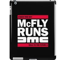 McFly Runs DMC - Back This Way, Walk to the Future iPad Case/Skin