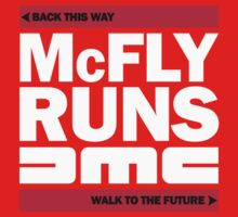 McFly Runs DMC - Back This Way, Walk to the Future Kids Clothes