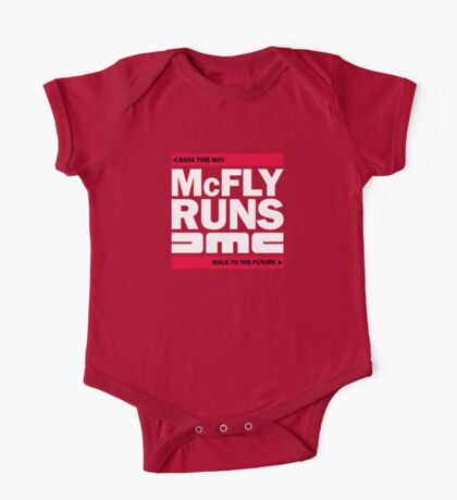 McFly Runs DMC - Back This Way, Walk to the Future One Piece - Short Sleeve