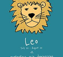 Star Signs: Leo by Awful Artwork