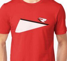 Speed R (red/white) Unisex T-Shirt