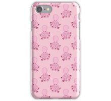 Pink Love Octopus Pattern iPhone Case/Skin