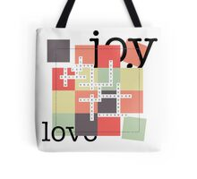 A Crossword Puzzle - Life's To Do's and To Have's Tote Bag