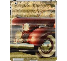 1940 CADILLAC SERIES 75 iPad Case/Skin
