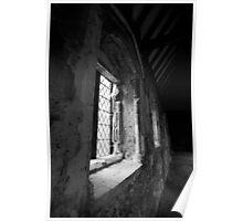 Duxford Chapel Window Poster