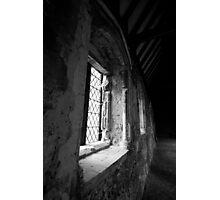 Duxford Chapel Window Photographic Print
