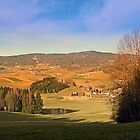 Peaceful panorama with warm colors | landscape photography by Patrick Jobst