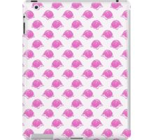 Pink and White Turtle Pattern iPad Case/Skin