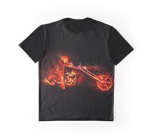 Ghost Rider - Theme Design Graphic T-Shirt